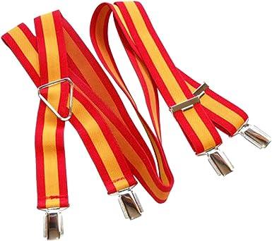 RAU Tirantes con la bandera de espa/ña en dos colores