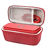 #6: BOVKE for DOSS SoundBox Touch Wireless Bluetooth V4.0 Portable Speaker Protective Hard EVA Travel Shockproof Carrying Case Cover Storage Pouch Bag, Red