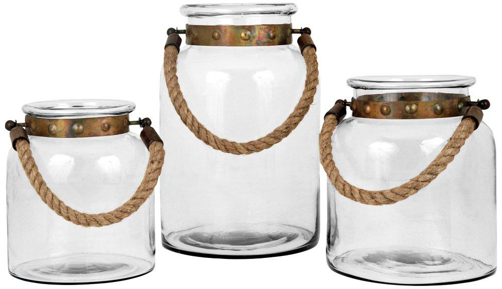 Pomeroy Calico Set of 3 Lanterns 609275 by Pomeroy (Image #1)