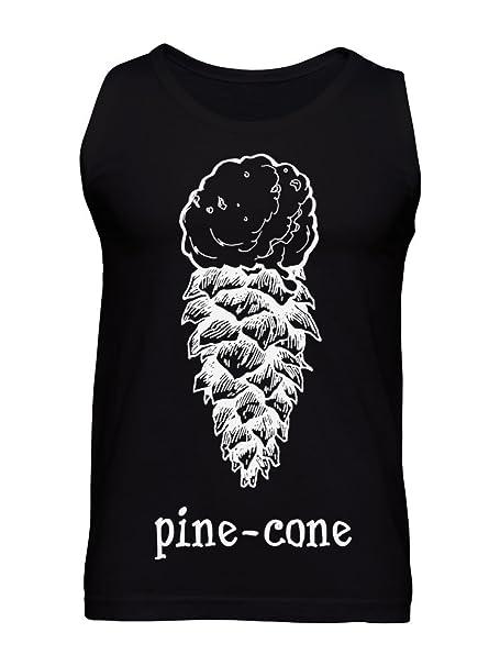 e1b3d7e9e98 Pine-Cone - Half Ice Cream Half Pine Cone Men s Tank Top at Amazon Men s  Clothing store