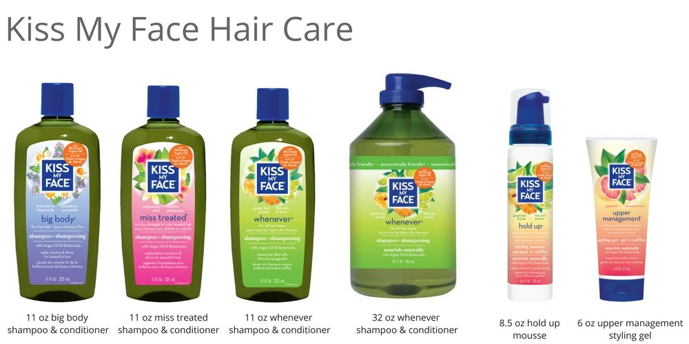 Kiss My Face Whenever Shampoo, Shampoo with Green Tea & Lime, 11 Ounce (Pack of 3) by Kiss My Face (Image #8)