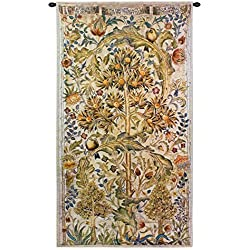 "Fine Art Tapestries ""Summer Quince"" Wall Tapestry"