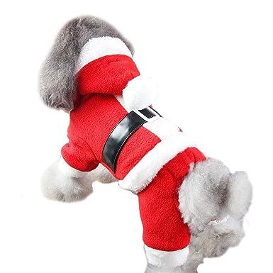 Elvoo Ropa para perros Ropa para perros Más terciopelo Ropa de peluche gruesa Mascota Ropa con