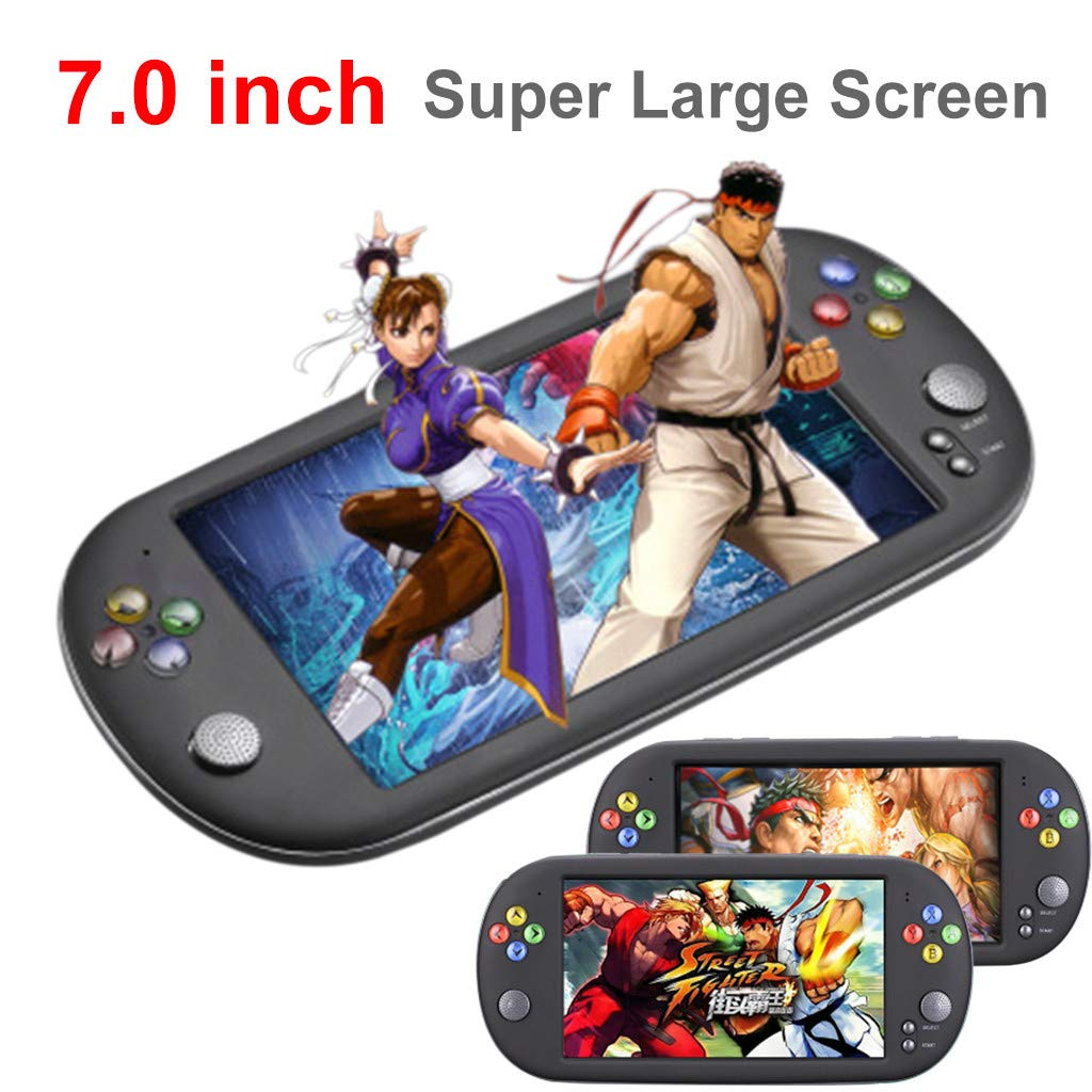 Chercherr Handheld Game Console Kids Adults, LDK Game Screen by 7.0 Thumbs Mini Palm Pilot Nostalgia Console Children Retro Console Mini Family TV Video by Chercherr (Image #2)