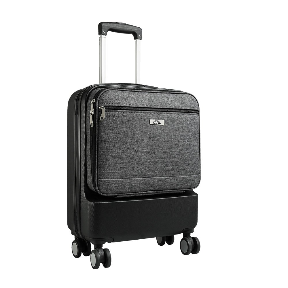 Valise Spinner à 4 Roulettes Cabin Max Fusion (Black Wheels)