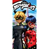 Toalla Prodigiosa Ladybug Cat Noir Algodon: Amazon.es: Juguetes y juegos