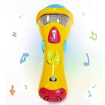 Kids Karaoke Wishtime Juguetes AcústicaCanciones MusicalesgrabaciónTransformación E Micrófono IluminaciónPrimer Music PX8nOk0w