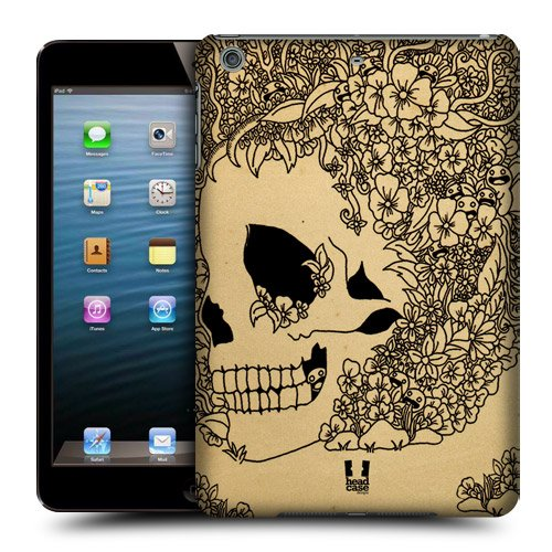Head Case Designs Bloom Doodle Skull Protective Snap-on Hard Back Case Cover for Apple iPad mini with Retina Display iPad mini 3