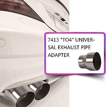 Universal 75 Mm 100 Mm Motorrad Geändert Auspuff Rohr Adapter Reduzierstück Anschluss Rohr Top4 Auto