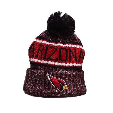 43a2b229b13 Gloral HIF Arizona Cardinals Winter Beanie Knit Hats for Fans ...
