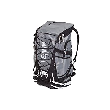 ff940addf1c6 Venum Challenger Xtreme Gym Bag Rucksack - Black Grey  Amazon.co.uk  Sports    Outdoors