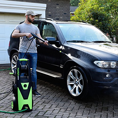PowRyte Elite Electric Pressure Washer, 2200PSI 2.0GPM Power Washer with Hose Reel, Extra Turbo Nozzle, Induction Motor by PowRyte (Image #1)