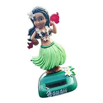 Homyl Hawaii Frau Wackelfigur Wackel Solar Figur Tanzende