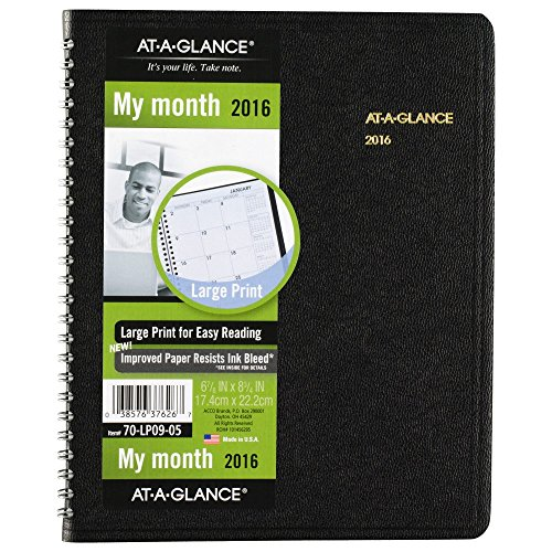 GLANCE Monthly Planner Inches 70 LP09 05