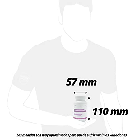 Ácido Fólico (Vitamina B9) de HSN Essentials - 800mg- Vitaminas y minerales prenatales, Esencial en los embarazos reduce el cansancio y la fatiga - 120 cáp ...