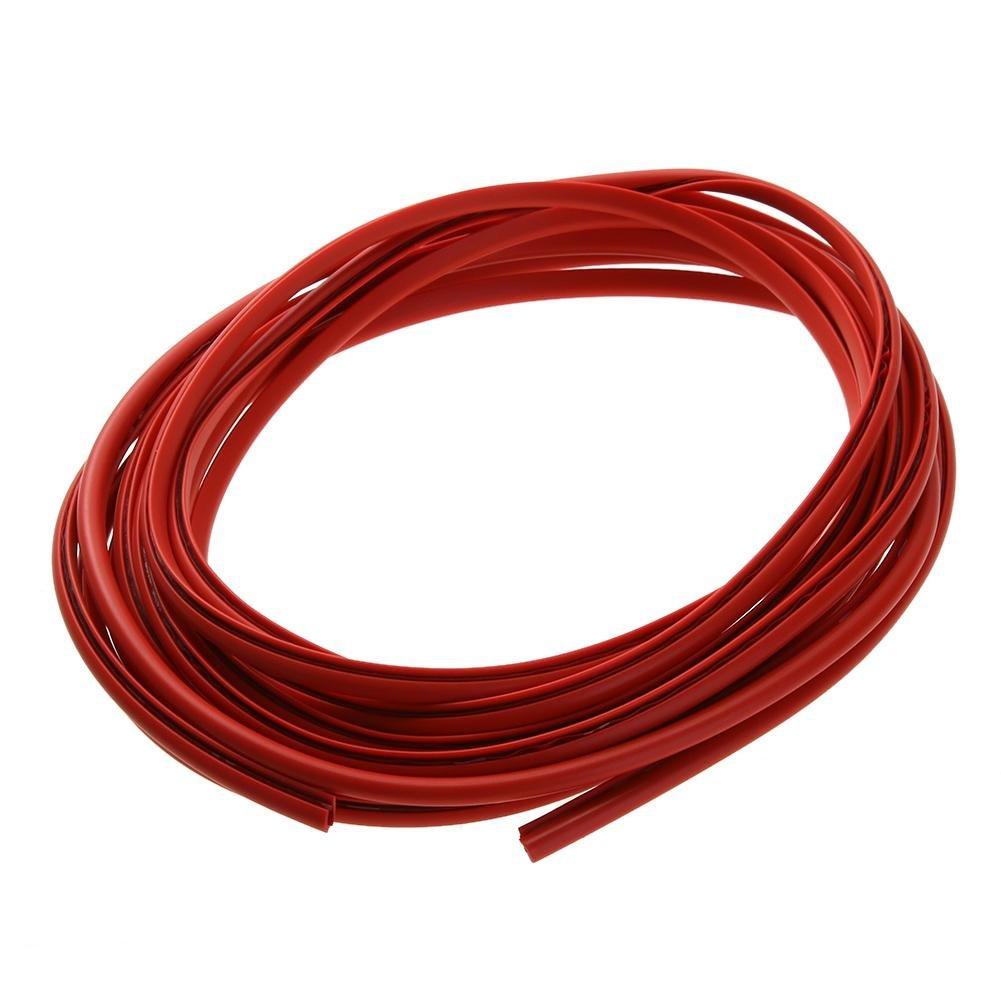 Vanpower portiè res frottements Bande anti Collision protection autocollant Strip (Rouge)