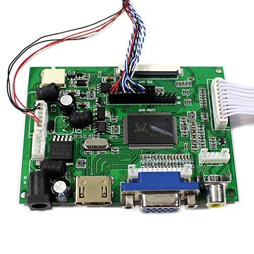 VSDISPLAY HDMI+VGA+2AV LCD Controller Board Work For 14'' 15.6'' 1366x768 40Pin LED Backlight LCD Panel by VSDISPLAY (Image #5)