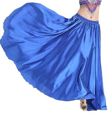 ShuangRun Falda Elegante para Danza del Vientre, Falda Bohemia ...