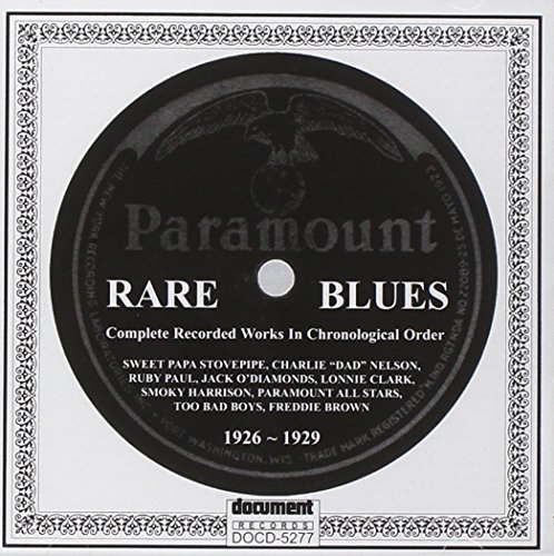 Rare Paramount Blues (1926-1929)