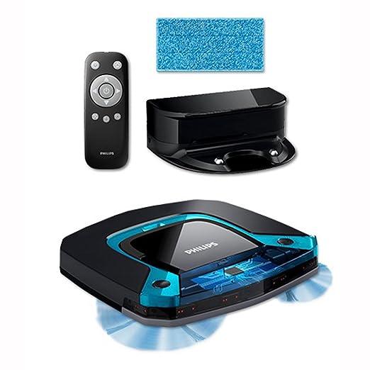 Philips SmartPro fácil diseño de robot aspirador fc8794/01 - Sistema de limpieza húmedo limpieza en húmedo de 3 pasos: Amazon.es: Hogar