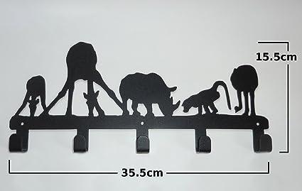 Tipo A de lámina de decoración de colgador con soporte de ...