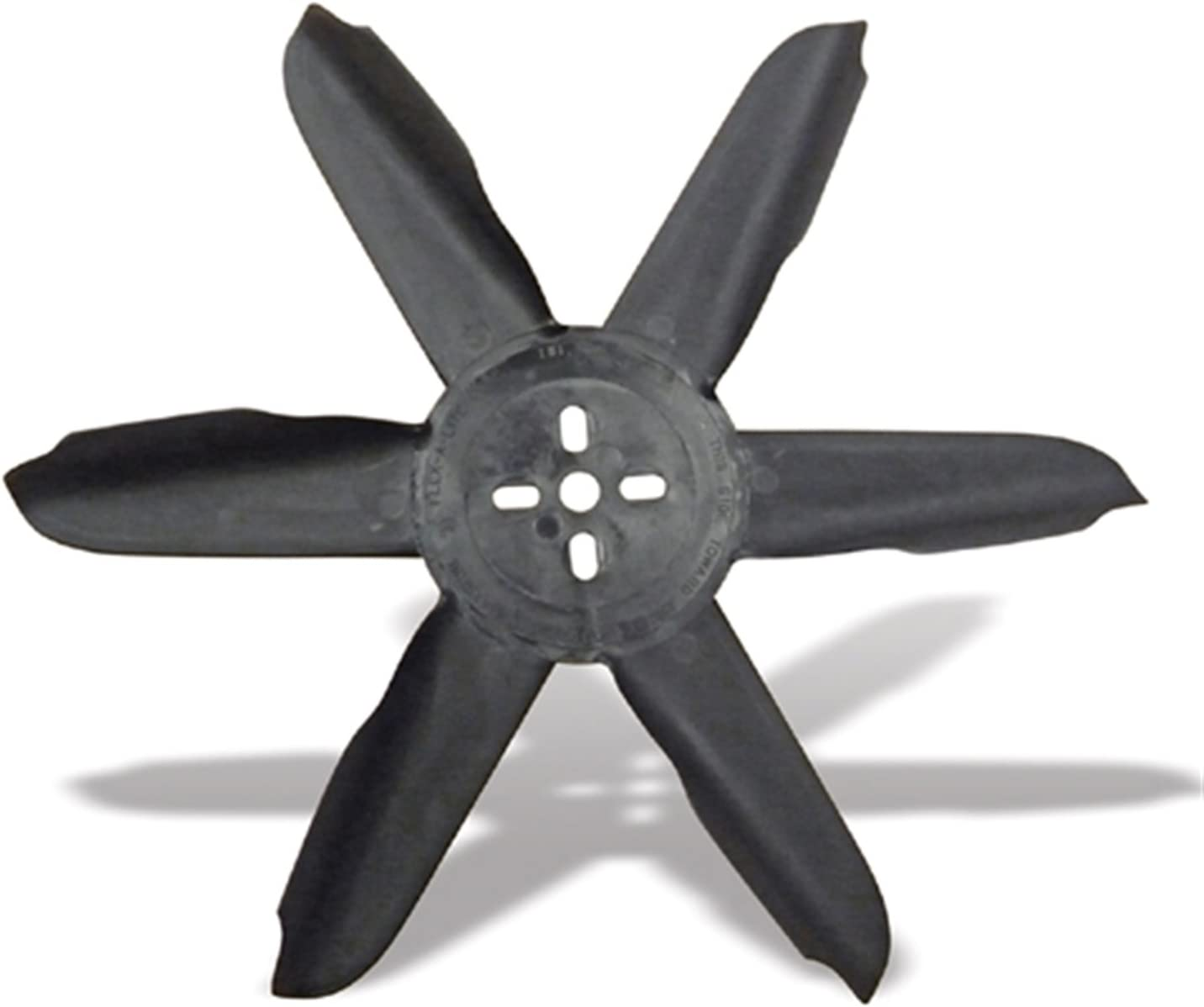 "Flex-a-lite 415 Black Nylon 15"" Belt Driven Fan"