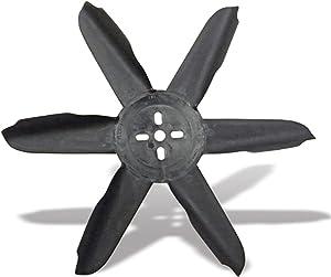 """Flex-a-lite 415 Black Nylon 15"""" Belt Driven Fan"""