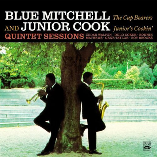 """Blue Mitchell & Junior Cook Quintet Sessions """"The Cup Bearers"""" / """"Junior's Cookin'"""""""