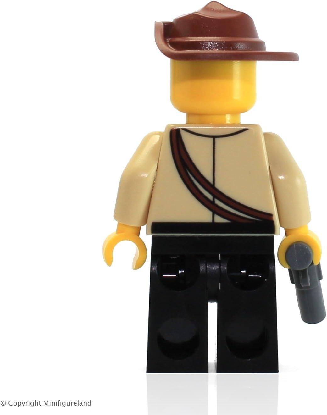 LEGO Adventures Minifigure - Johnny Thunder (White Pupils)