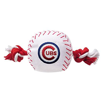 f2e6514f4 Pet Supplies   MLB CHICAGO CUBS Baseball Rope Toy for DOGS   CATS ...