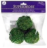 """SuperMoss (21806) Moss Balls, Fresh Green, 2.5 (3 pack)"""""""