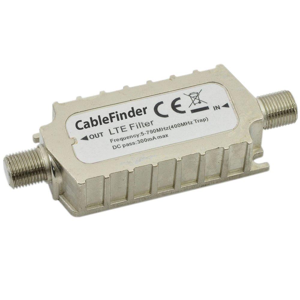 4 G LTE Filtro F Conector en línea interferencias Adapter-TV ...