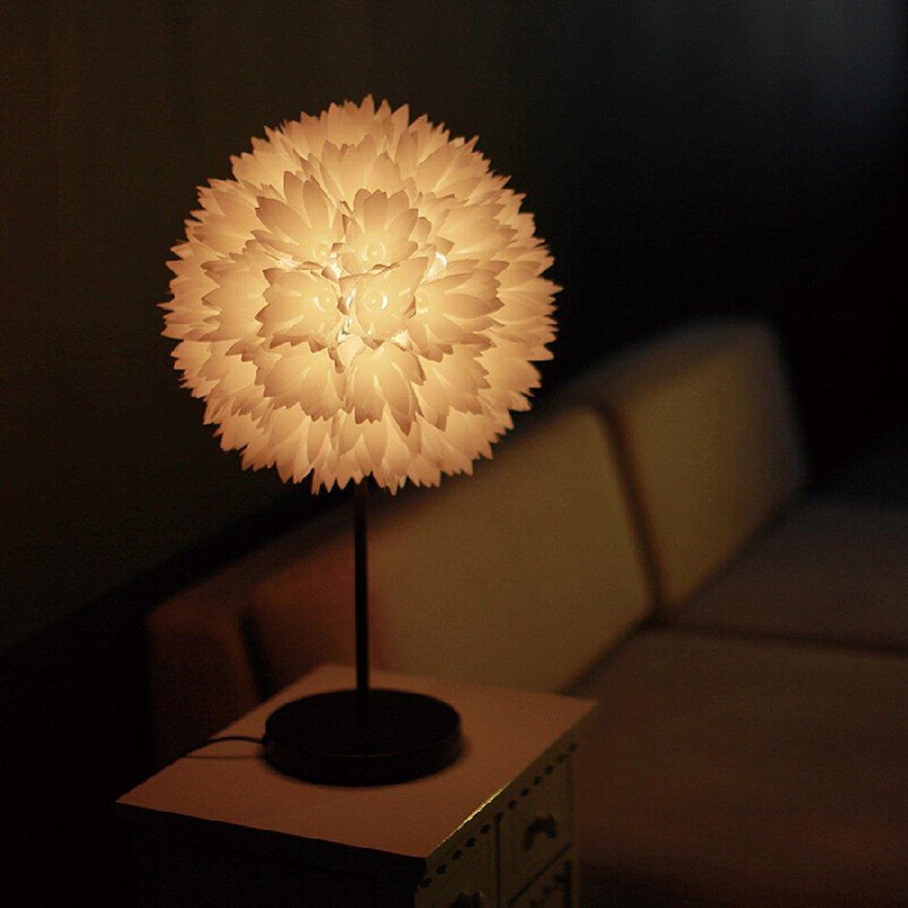 クリエイティブベッドルームのベッドサイドランプシンプルなモダンなプリンセステーブルランプのリモートコントロールdimmable北欧のベッドサイドテーブルランプのウェディングルームのギフト (設計 : 2) B07RK1H194  2