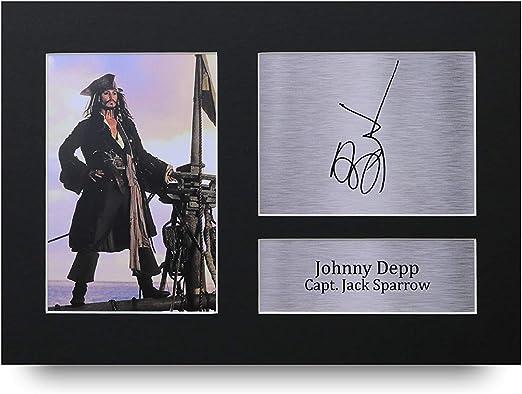 JOHNNY DEPP CAPTAIN JACK  GIFT A3 SIZE WALL DECOR ART PRINT POSTER