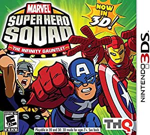 Marvel Super Hero Squad: The Infinity Gauntlet by THQ (2011) - Nintendo 3DS