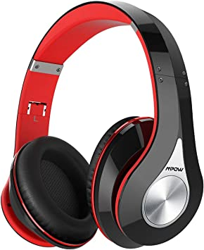 Mpow 059 Auriculares Diadema Bluetooth con Micrófono CVC 6.0, 65hrs Versión Actualizada, Sonido Estéreo, Auriculares Diadema Inlámbricoa para TV, Cascos Bluetooth Diadema Plegable para Skype/PC/Móvil: Amazon.es: Electrónica
