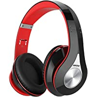 Mpow 059 Bluetooth Headphones Over Ear, Hi-Fi Stereo Wireless Headset, Foldable, Soft Memory-Protein Earmuffs, w/Built…
