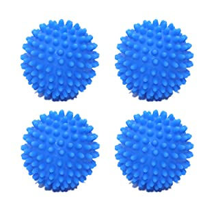 FGen 4pcs Housework Cleaning Artifact Washing Machine Decontamination Green Laundry Ball