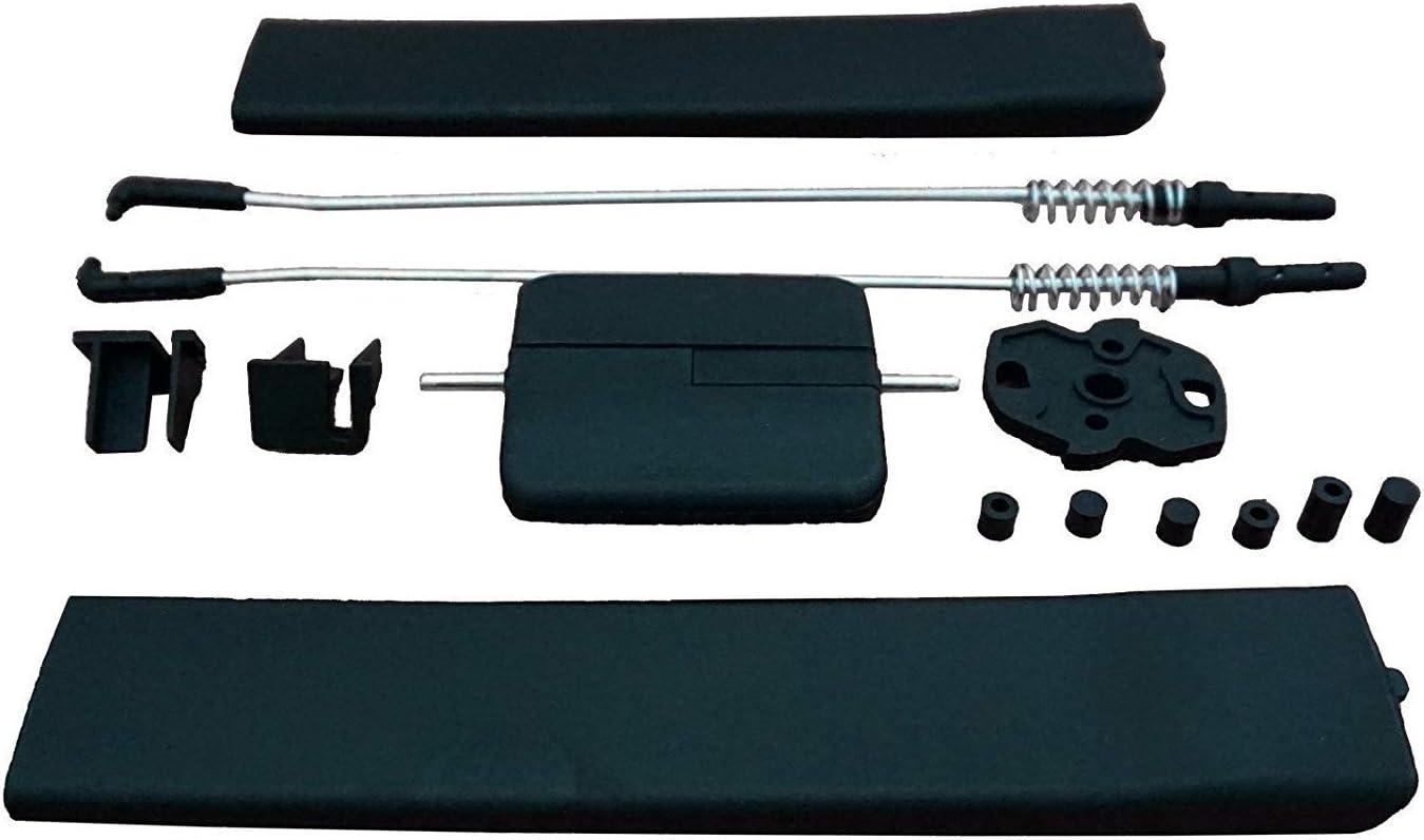 Gogoeu Schiebefenster Glasverriegelung Reparaturset Für Transporter T5 T6 Caravelle Auto