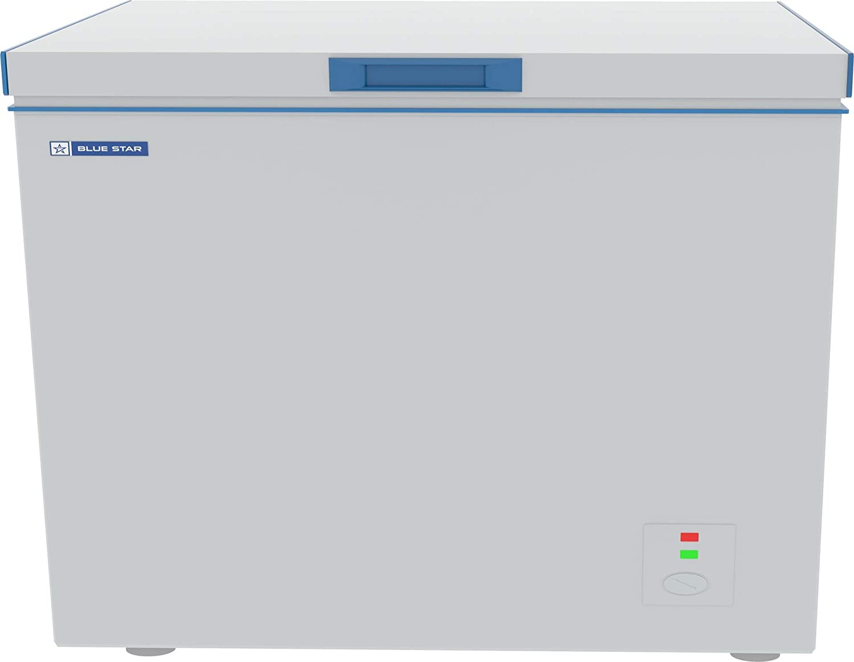 Blue Star CHF300 Single Door Deep Freezer (285 L, White)