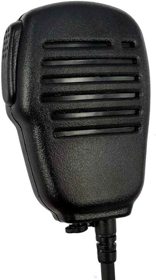 rongweiwang Remplacement pour Yaesu Vertex VX6R VX7R VX6R VX7R FT-270 Radio en Micro Talkie-walkie Radio Mic Microphone Haut-Parleur Portable