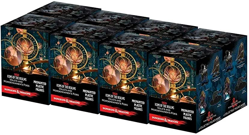 D&D Icons of The Realms Set 13: Volo & Mordenkainens Foes Booster Brick: Amazon.es: Juguetes y juegos