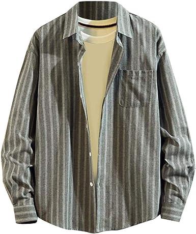 Sylar Camisas De Hombre Manga Larga Camisa A Cuadros Rejilla Camisa De Vestir para Hombre Camisas Hombre Originales Tops Blusa Clásico Básica Botón Formal Negocio Camisa para Hombre Otoño: Amazon.es: Ropa y