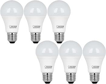 6-Pk. Feit Electric 60W Soft White LED Light Bulb