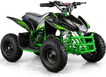 Titan Kids 24V Green Mini Quad Kids ATV