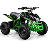 Outdoor Kids Children Titan 24V Green Mini Quad ATV Dirt Motor Bike Electric Battery Powered