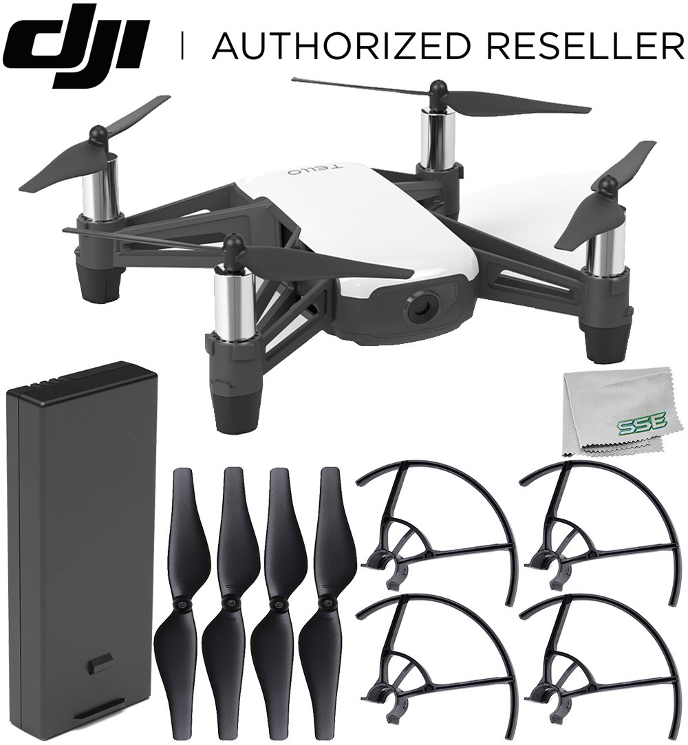 Ryze Tello Quadcopter Drone with HD Camera and VR – Powered by DJI Technology and Intel Processor