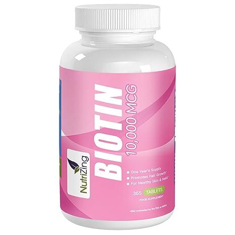 Biotina 10.000mcg + Zinc 15mg  1f7f281eb8e2
