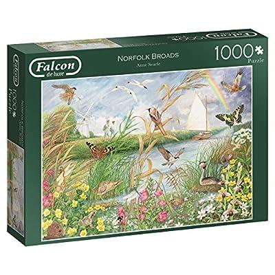 Falcon De Luxe 11208 Norfolk Broads Puzzle Da 1000 Pezzi