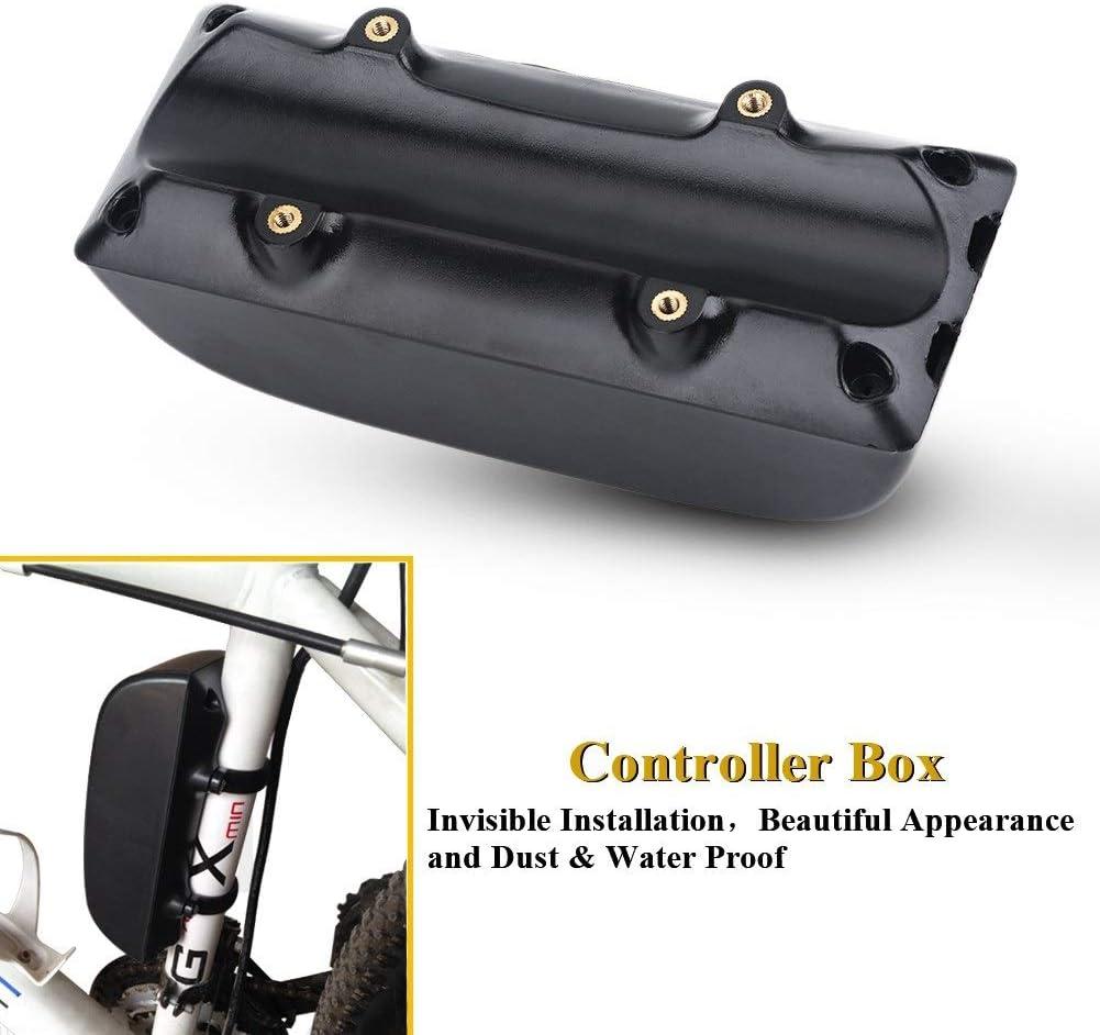 Aeloa Contr/ôleur de v/élo Box-Scooter Batterie Kit de bo/îtier de bo/îtier de bo/îte de Conversion de v/élo /électrique for v/élo /électrique//VTT